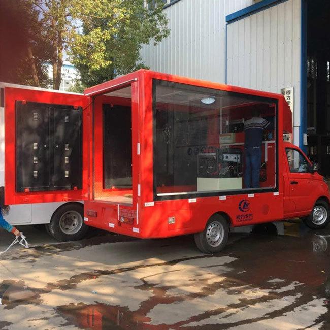 Mobile led display P6 outdoor waterproof advertising truck led display