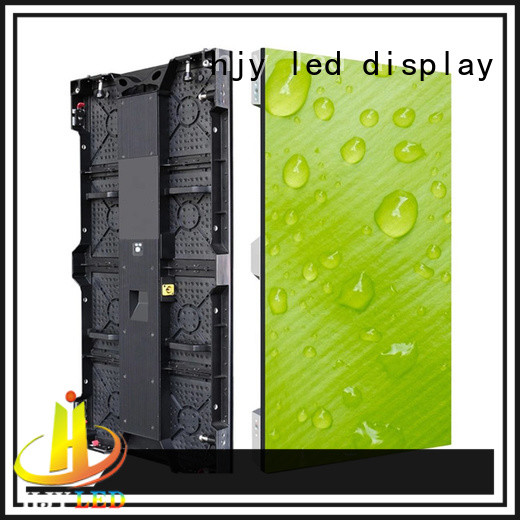 color led screen on stage led for shopping mall Haojingyuan