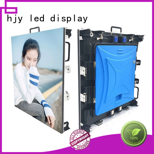 Haojingyuan simple led stage backdrop screen directly sale for concert