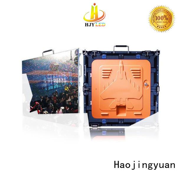 Haojingyuan designer high resolution led display indoor for building