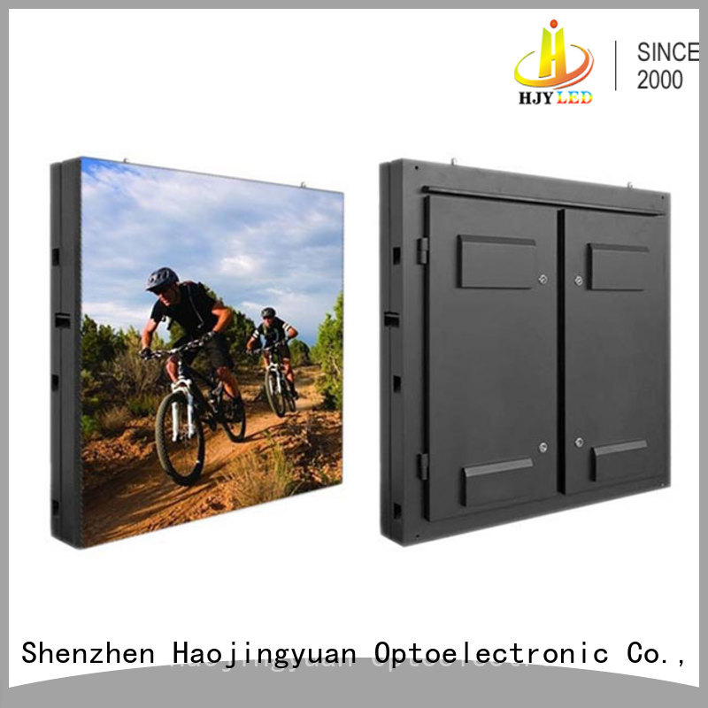 Haojingyuan customized led road display promotion for hotels