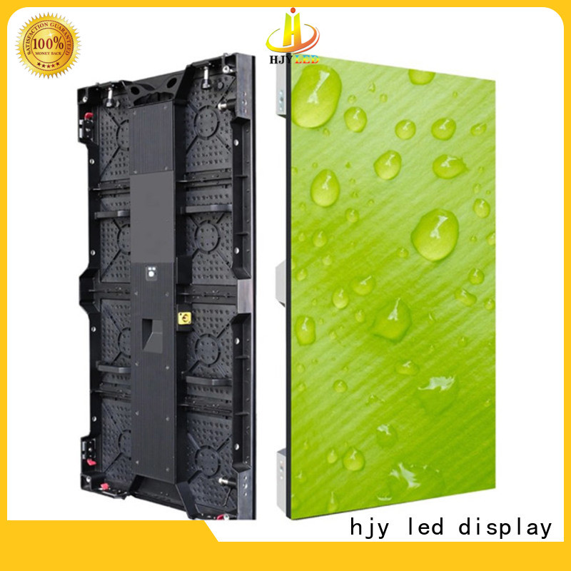 Haojingyuan Wholesale led screen on stage for business for shopping mall