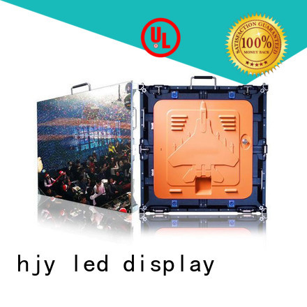 Custom high resolution led display video factory for taxi