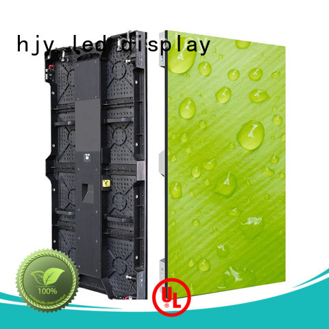 Haojingyuan Top stage led screen factory for shopping mall