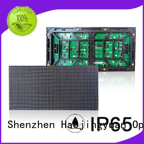 full color led display module single for wall Haojingyuan