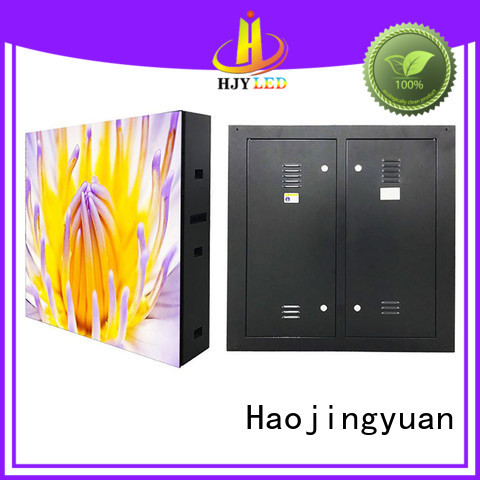Haojingyuan unique design waterproof led display board promotion for school