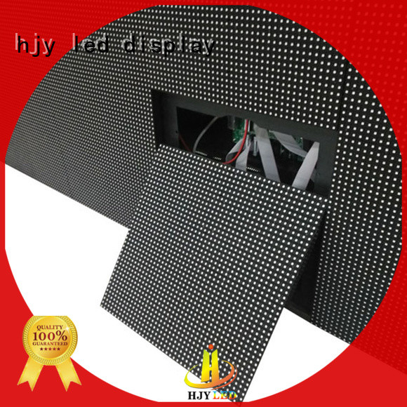 Haojingyuan module led road display Suppliers for lobby