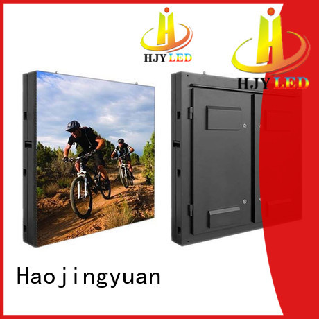 Haojingyuan advertising indoor fixed led screen theme parks for school