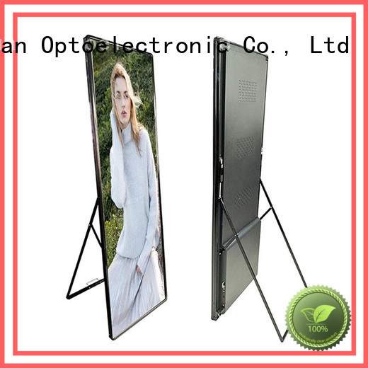 Haojingyuan fashionable mobile led display screen waterproof indoor for for house