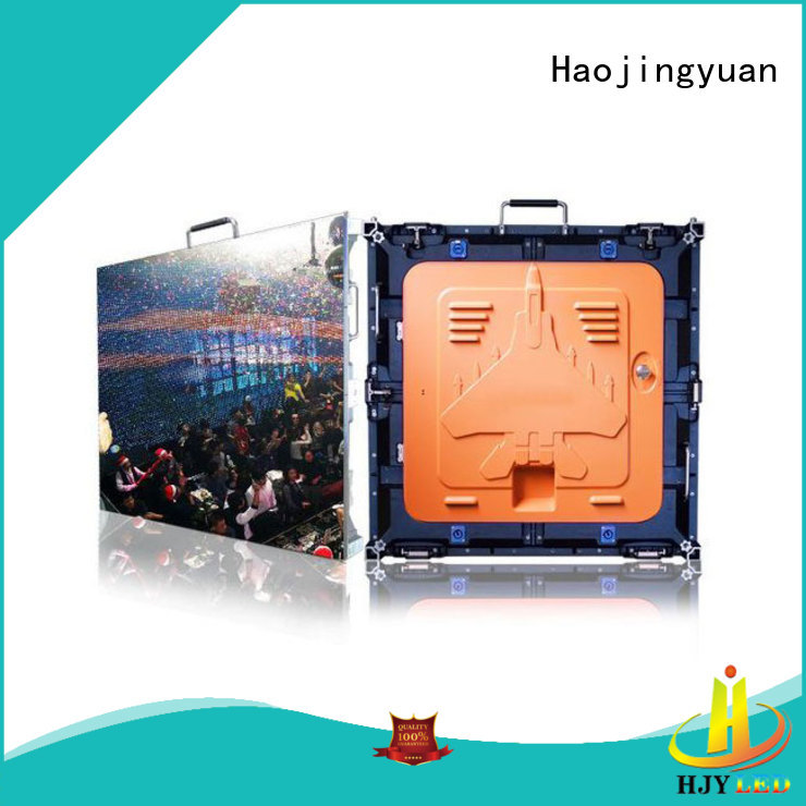designer high definition led screens stage configuration for building