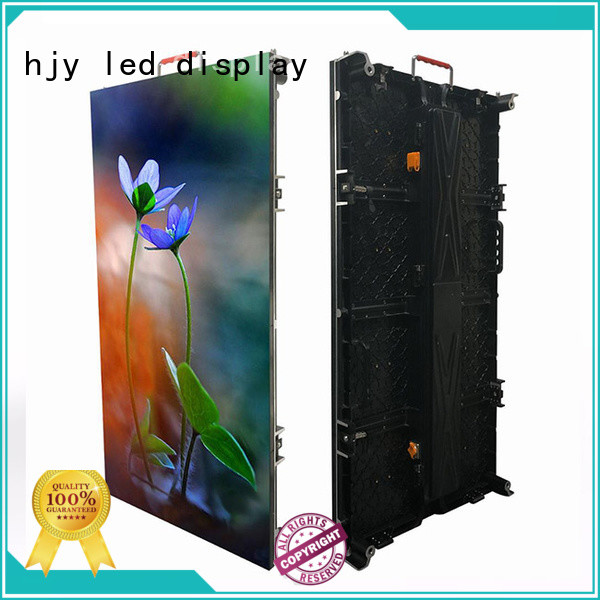 Haojingyuan stage led screen on stage directly sale for concert