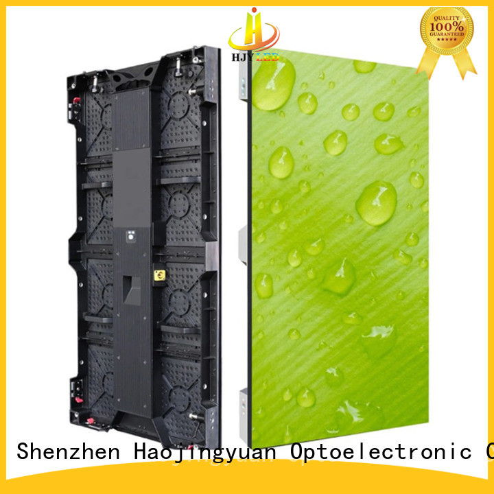 Haojingyuan definition led screen on stage manufacturers for concert