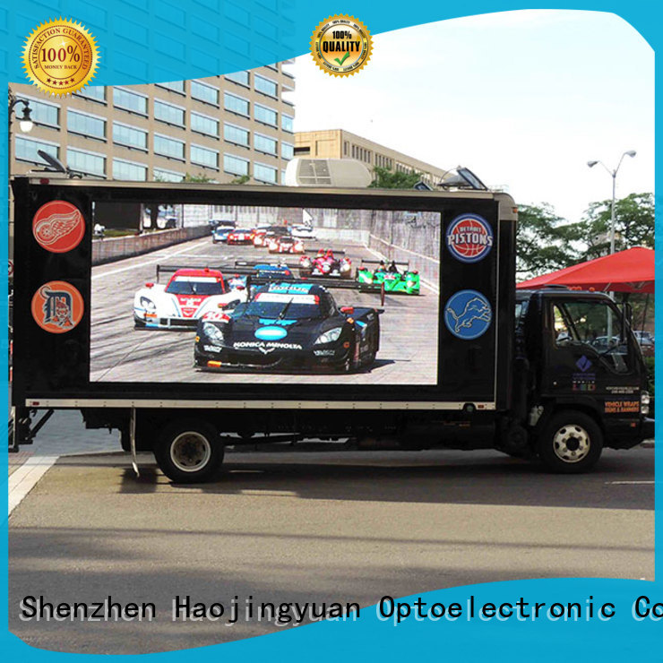 Custom truck led display display manufacturers for birthday party