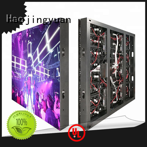 Haojingyuan module advertising led display fixed Supply for lobby