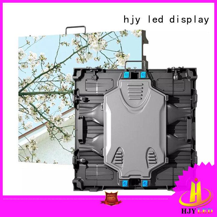 Haojingyuan designer high definition led display configuration for sea port