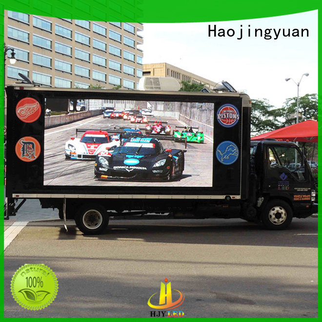 Haojingyuan Wholesale mobile led display factory for school