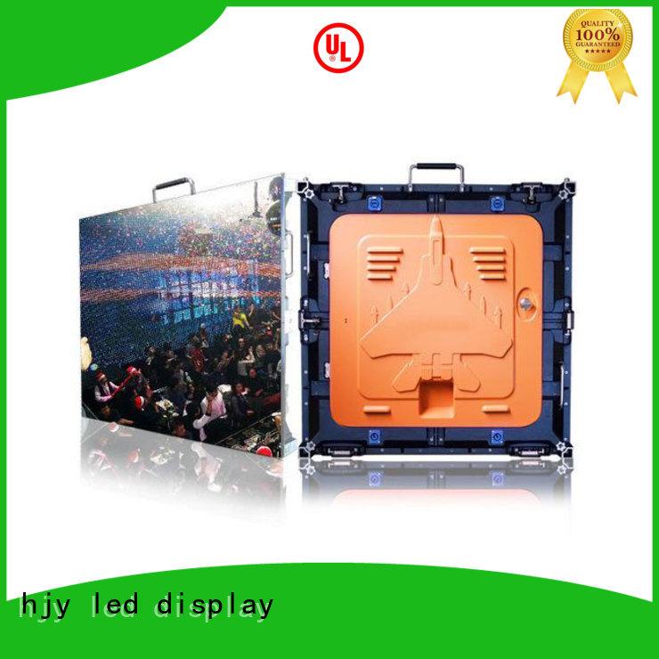 Haojingyuan good quality high definition led screens configuration for sea port