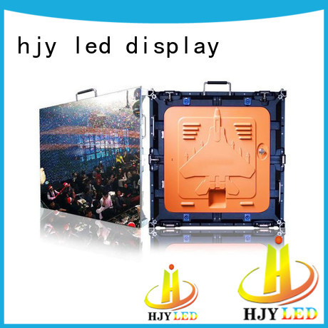 designer high quality led screen hd indoor for building