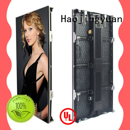 Haojingyuan Custom stage led screen Suppliers for shopping mall