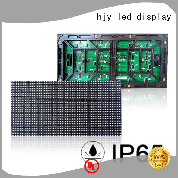 Haojingyuan high quality led display module series for cafeteria