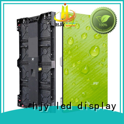 Haojingyuan popular stage led screen vivid colors for shopping mall