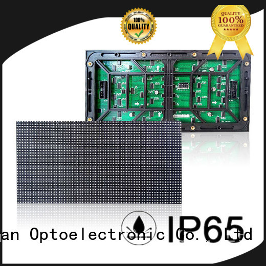 Haojingyuan green dip led module company for cafeteria