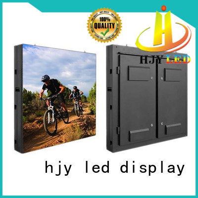 Haojingyuan customized led display sign led fixed outdoor use for lobby