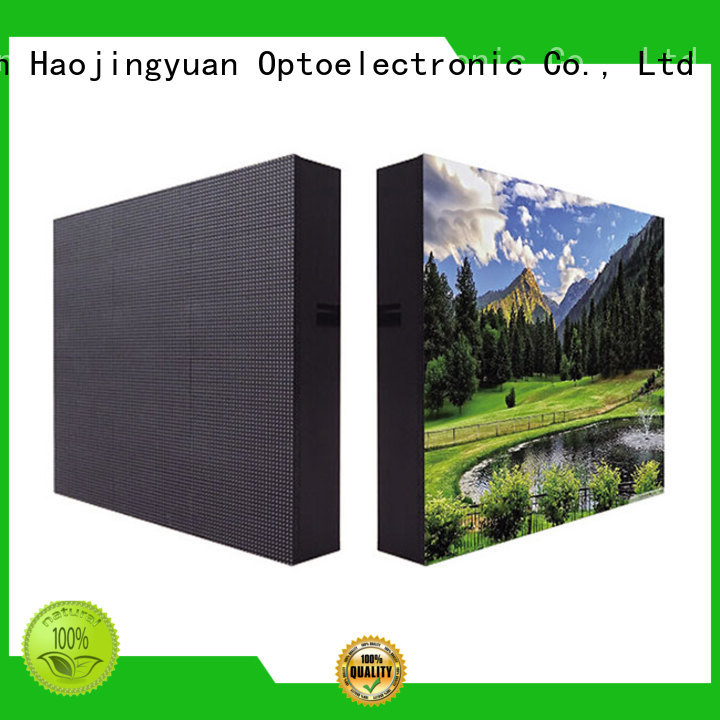 modern led display fixed strong theme parks for hotels