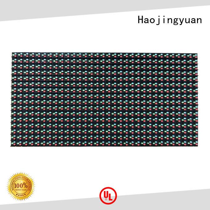 Haojingyuan color dip led module factory for cafeteria