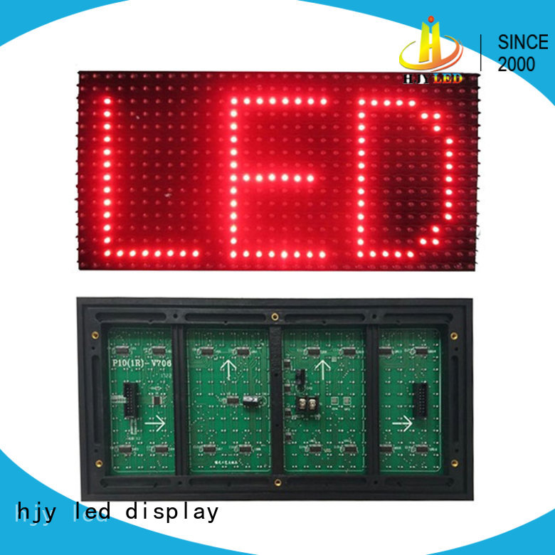 professional full color led display module series for cafeteria
