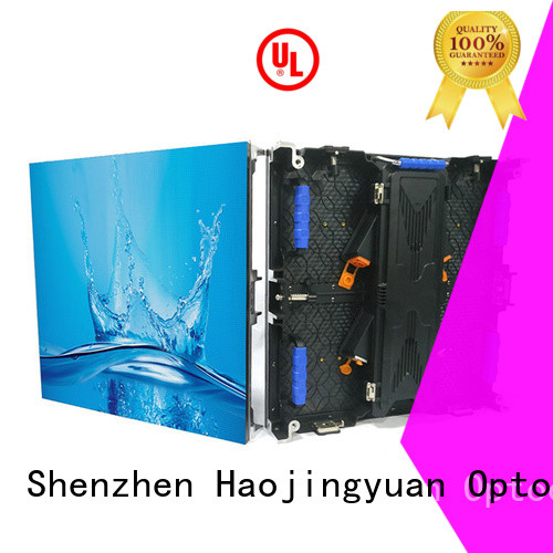 Haojingyuan Best stage led screen factory for shopping mall