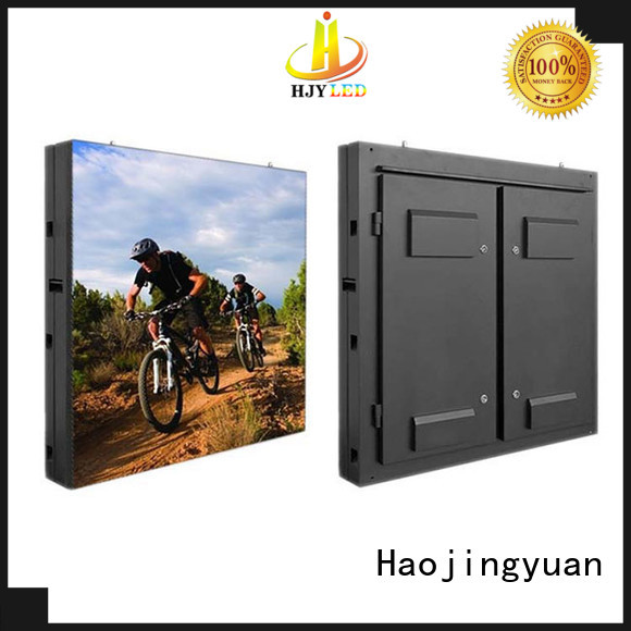 Haojingyuan customized waterproof led display board theme parks for school