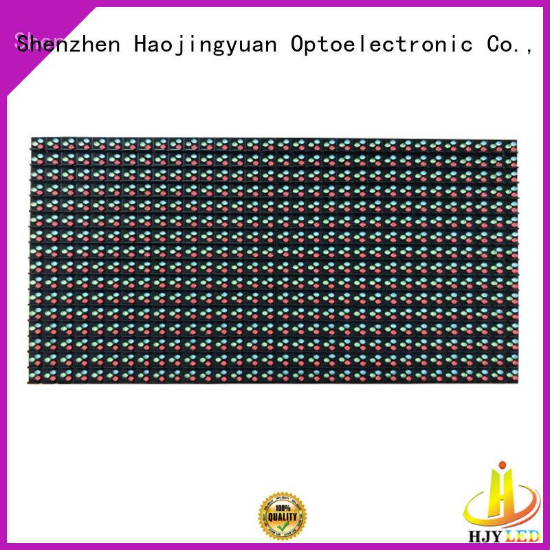 Haojingyuan dip led display module technology for street