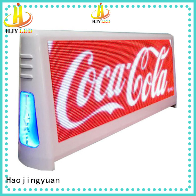Best taxi led display display Suppliers for wedding