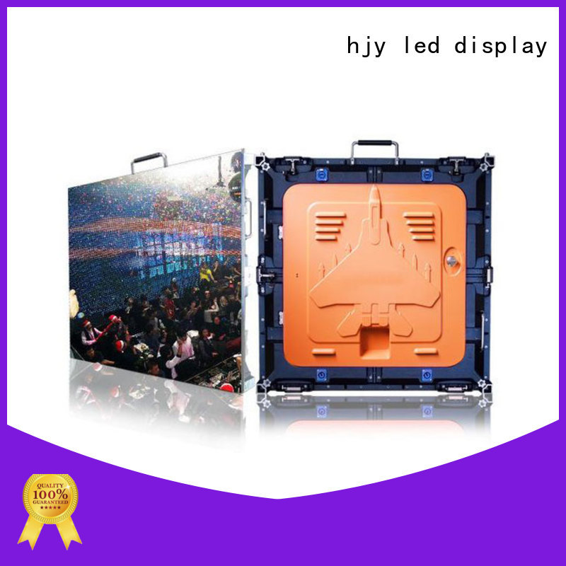 Haojingyuan resolution high definition led screens indoor for sea port