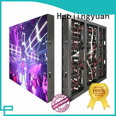 Haojingyuan full led display sign led fixed theme parks for school