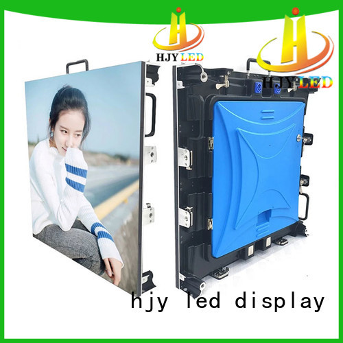 Haojingyuan wall stage led screen Supply for shopping mall