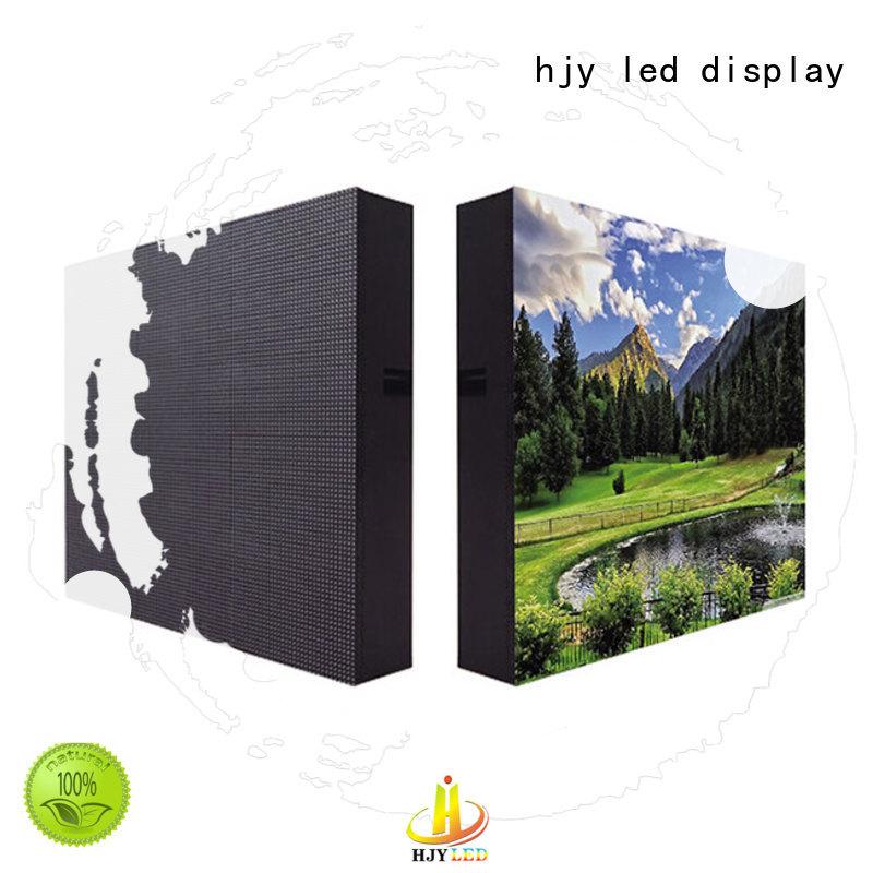 Haojingyuan color waterproof led display board Supply for school