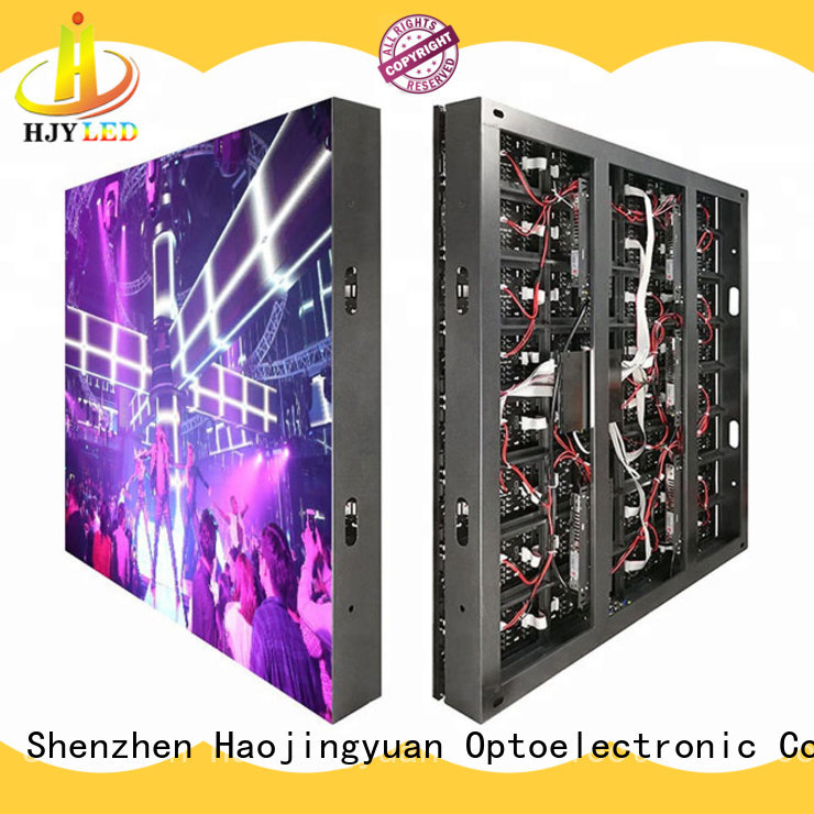 unique design waterproof led display board brightness outdoor use for lobby
