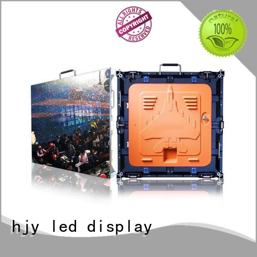 good quality HD led display panel backdrop manufacturer for sea port