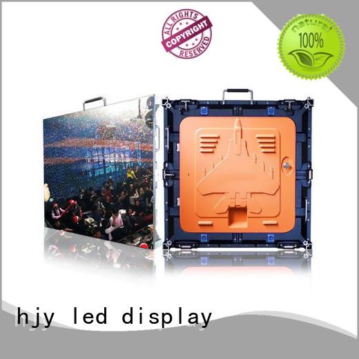 good quality HD led display panel backdrop manufacturer for sea port