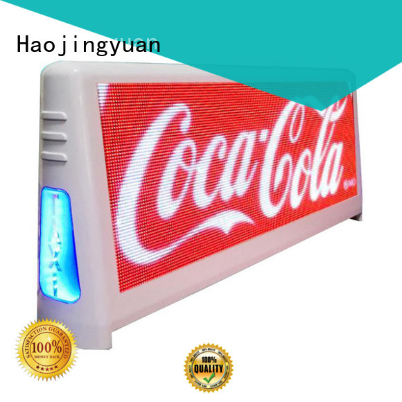 durable taxi top led display brightness wholesale suppliers for wedding