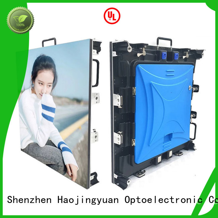Haojingyuan fashionable led panels for stage directly sale for shopping mall