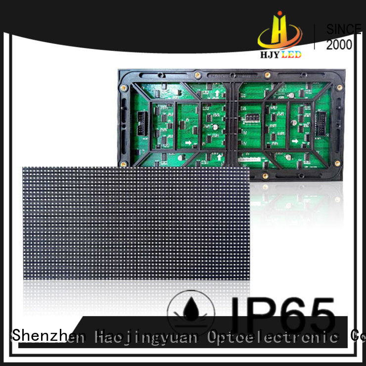 Haojingyuan professional dip led module series for Street