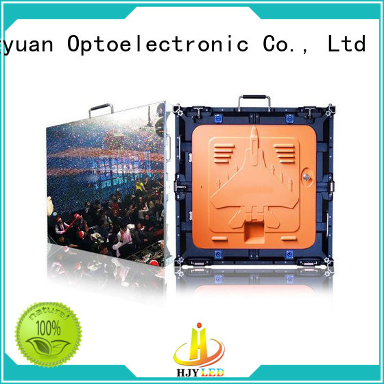 Haojingyuan led HD led display panel for business for sea port