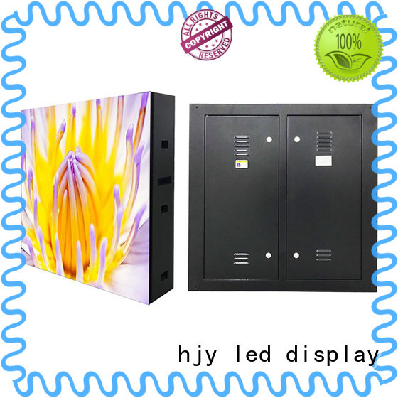 Haojingyuan module outdoor led display outdoor use for hotels