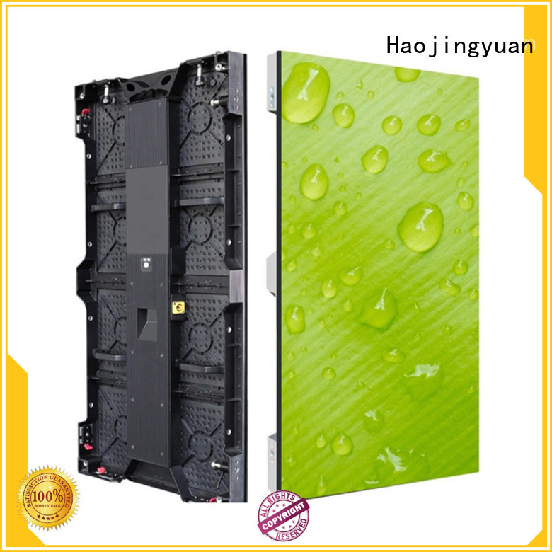 Haojingyuan wall outdoor stage rental LED Suppliers for concert