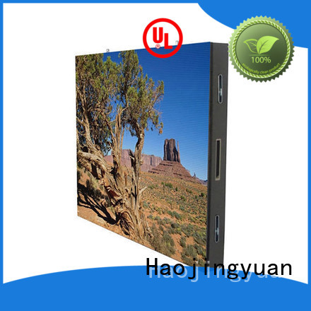 Haojingyuan fashionable truck led display technology available for for house