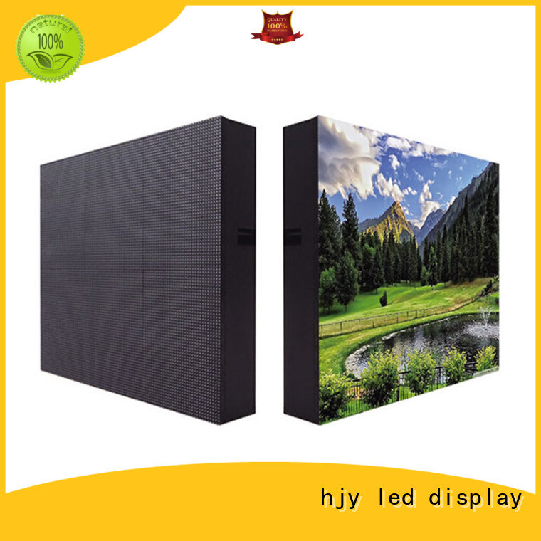 Haojingyuan Best advertising led display fixed for business for school