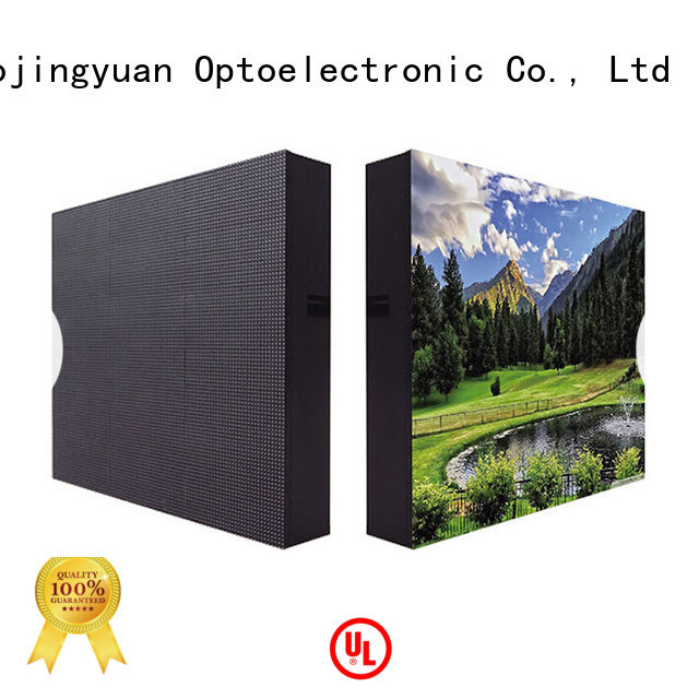 Haojingyuan High-quality indoor led display company for hotels